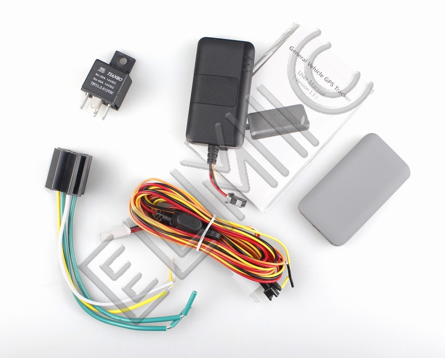 GPS TRACKERS - Universal vehicle tracker GPS / GSM ELMIC