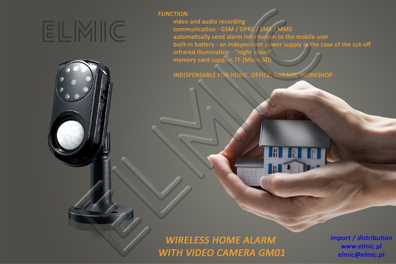 Wireless Home Alarm ELMIC CONCOX GM01