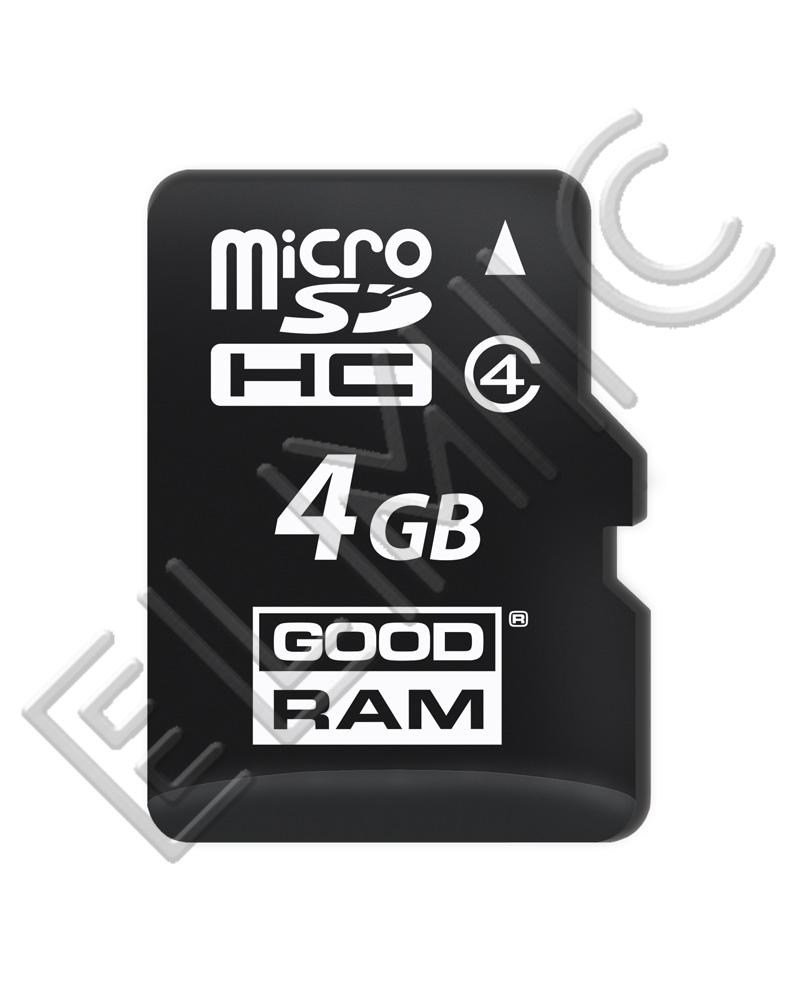 Karta pamięci GOODRAM microSD 4 GB